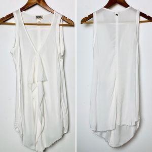 DIESEL ruffle blouse t genet b